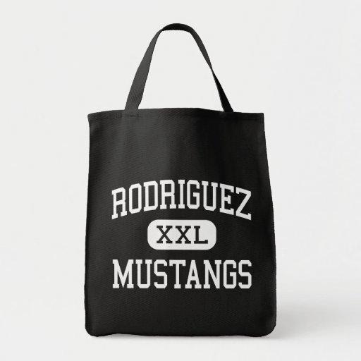 Rodriguez - Mustangs - High - Fairfield California Tote Bags