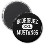 Rodriguez - Mustangs - High - Fairfield California Fridge Magnets