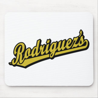 Rodriguez's in Gold Mouse Pad