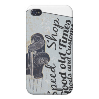 Rods racing iPhone 4 cover