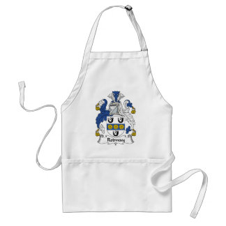 Rodway Family Crest Adult Apron