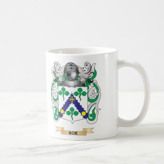 Roe Coat of Arms (Family Crest) Coffee Mugs