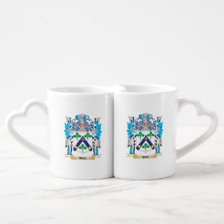 Roe Coat of Arms - Family Crest Couples Mug