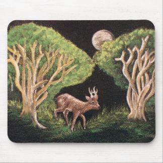 Roe Deer Buck Mouse Pad