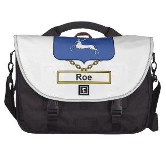 Roe Family Crest Laptop Bag