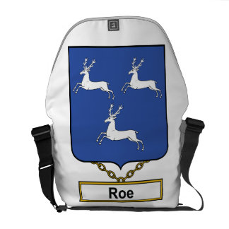 Roe Family Crest Courier Bag