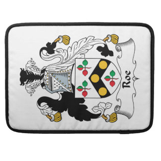 Roe Family Crest Sleeves For MacBook Pro
