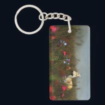 Roe in a Meadow Acrylic Keychain