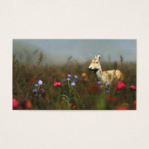 Roe in a Meadow Bookmarks Business Card