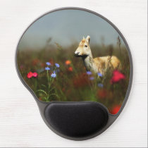 Roe in a Meadow Gel Mousepad
