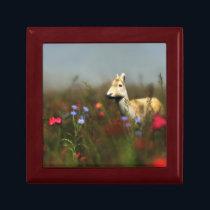 Roe in a Meadow Jewelry Box