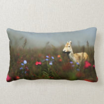 Roe in a Meadow Pillow