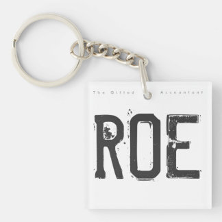 """ROE"" KEYCHAIN"