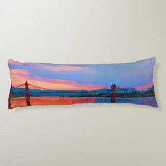 Roebling Suspension Bridge Body Pillow