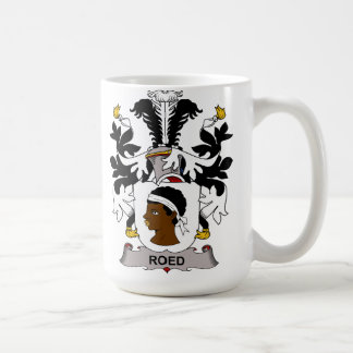 Roed Family Crest Classic White Coffee Mug