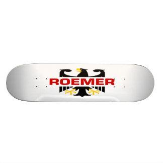 Roemer Surname Custom Skate Board