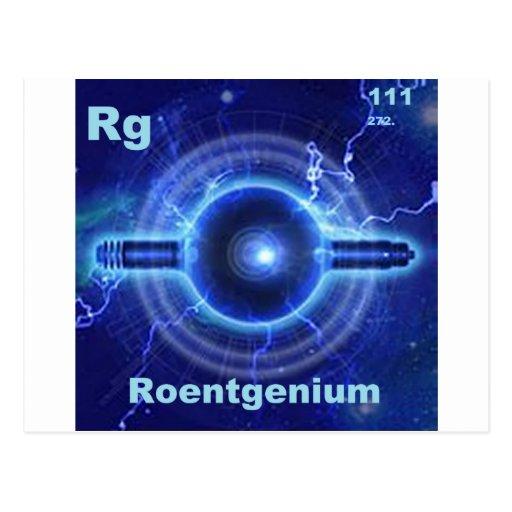 roentgenium postal