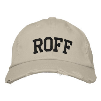Roff Embroidered Hat