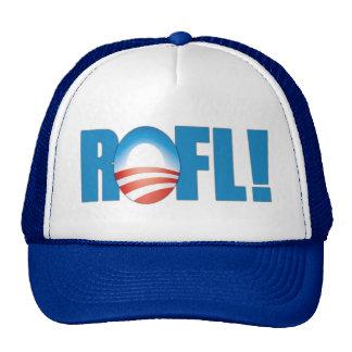 ROFL Anti Obama Trucker Hat
