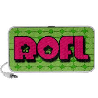 ROFL Doodle iPod Speaker