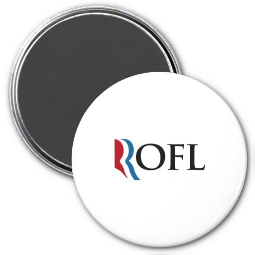 ROFL EN ROMNEY.png Imán Redondo 7 Cm