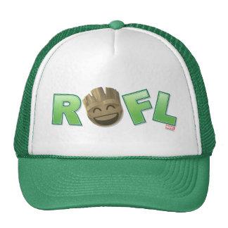 ROFL Groot Emoji Trucker Hat