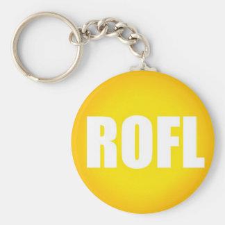 ROFL Keychain