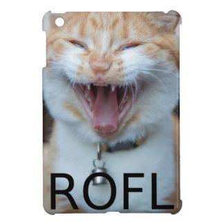 ROFL Laughing Kitty Cat iPad Mini Case