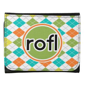 rofl; Modelo colorido de Argyle