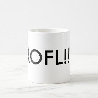 ROFL!!! CLASSIC WHITE COFFEE MUG