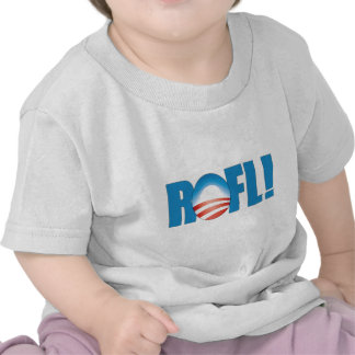 ROFL Obama anti Camisetas