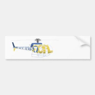 Roflcopter Bumper Sticker