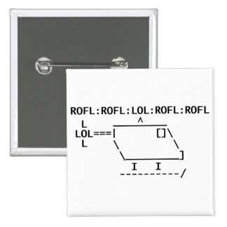 ROFLcopter 2 Inch Square Button