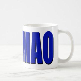 ROFLMAO - blue Classic White Coffee Mug