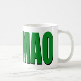 ROFLMAO - green Classic White Coffee Mug