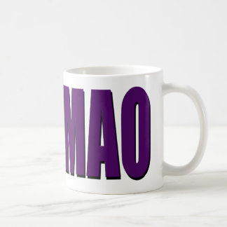 ROFLMAO - purple Classic White Coffee Mug