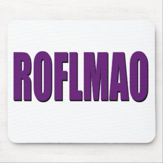ROFLMAO-purple Mouse Pad
