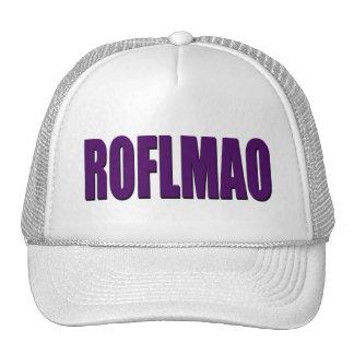 ROFLMAO purple Trucker Hat