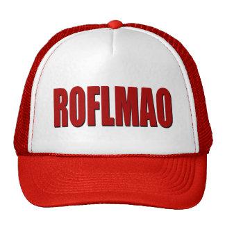 ROFLMAO RED TRUCKER HAT