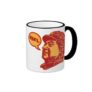 ROFLMAO RINGER COFFEE MUG