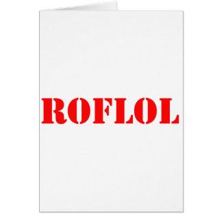 ROFLOL CARDS