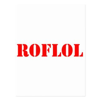 ROFLOL POST CARD