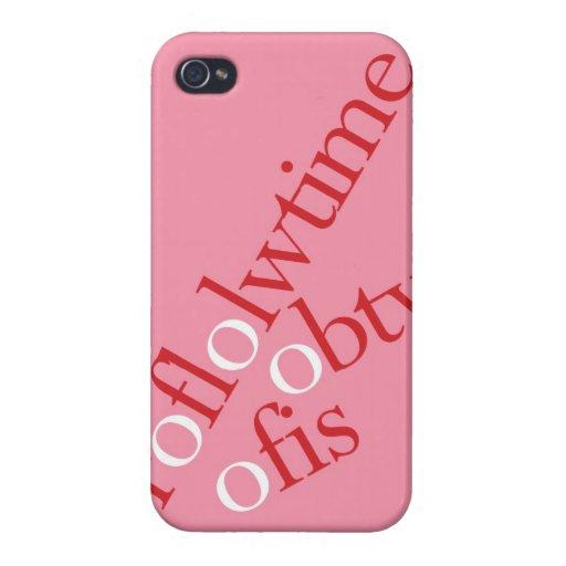 """ROFLOLTIME OBTW OFIS "" iPhone 4/4S FUNDAS"