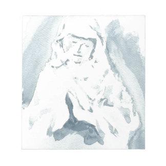 Rogación del Virgen María Bloc