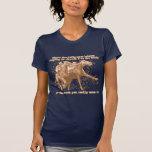 Rogación en las carreras de caballos camisetas