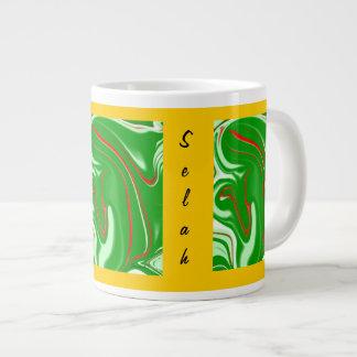 Rogación en taza    abstracta de la especialidad taza grande