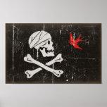Rogelio alegre de Jack Sparrow Posters