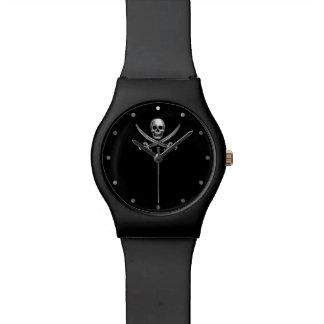Rogelio alegre de plata relojes de pulsera