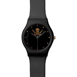 Rogelio alegre de plata reloj de mano