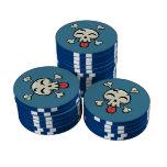 Rogelio alegre tonto juego de fichas de póquer